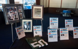 Silent auction items.
