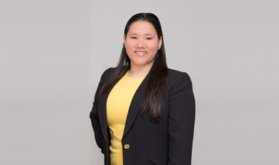 Vanessa Fass, now an Associate Attorney